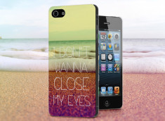 Coque iPhone 5/5S Don't Wanna Close My Eyes