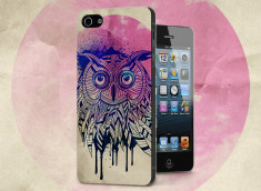 Coque iPhone 5/5S Owl Face