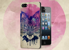 Coque iPhone 5/5S Fox Face