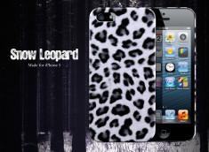 Coque iPhone 5 Snow Leopard Case