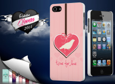 Coque iPhone 5/5S Saint Valentin 2014 - Time for Love