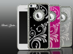 Coque iPhone 5 Strass Garden