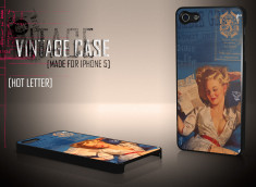 Coque iPhone 5 Vintage Case - Hot Letter Pin Up