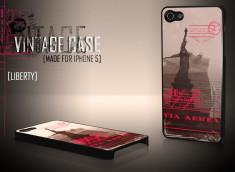 Coque iPhone 5 Vintage Case - Liberty
