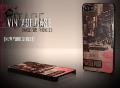 Coque iPhone 5 Vintage Case - Streets of NY
