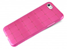 Coque iPhone 5C Flex Pink Square