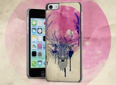 Coque iPhone 5C Deer Face