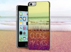 Coque iPhone 5C Don't Wanna Close My eyes