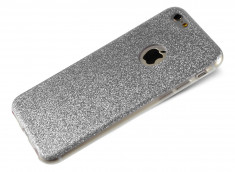 Coque iPhone 7 Plus Glitter Bling Argent