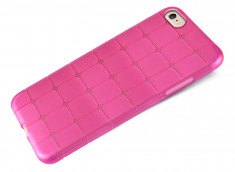 Coque iPhone 6 Flex Pink Square