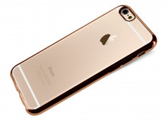 Coque iPhone 7 Plus Gold Flex
