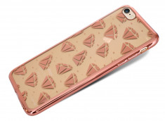 Coque iPhone 6 Plus/6S Plus Diamants-Rose Gold