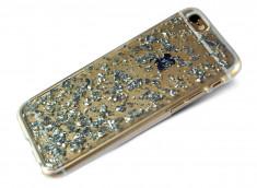 Coque iPhone 6/6S Feuilles d'Argent