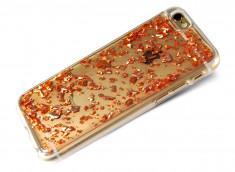 Coque iPhone 7 Feuilles de Bronze