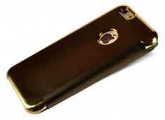 Etui iPhone 6 Plus/6S Plus Flip Mirror-Gold