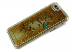 Coque iPhone 6 Plus/6S Plus Glitter and Stars-Or
