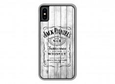 Coque iPhone X White Old Jack