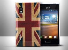 Coque LG Optimus L5 Vintage UK