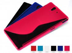 Coque Sony Xperia Z Silicone Grip Color