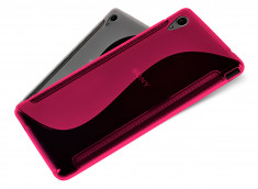 Coque Sony Xperia M4 Aqua Silicone Grip