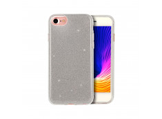 Coque iPhone 7 / iPhone 8/SE 2020 Glitter Protect Argent