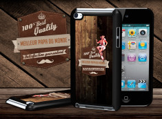 Coque iPod Touch 4 Vintage Best Father