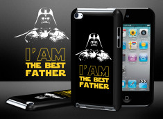 Coque iPod Touch 4 Dark Father