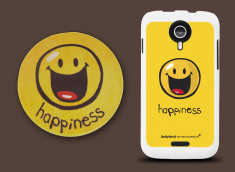 Coque Wiko Cink Five Smiley Happyness by Moxie