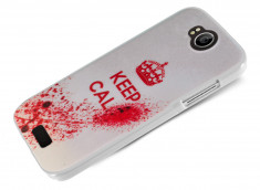 Coque Wiko Cink Peax 2/Cink Peax Keep Calm Blood