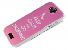 Coque Wiko Cink Peax 2/Cink Peax Keep Calm Shopping