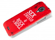 Coque Wiko Darknight Sex, Drugs and Rock n Roll