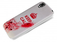 Coque Wiko Fizz Keep Calm Blood