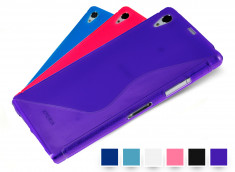 Coque Sony Xperia Z1 Grip Flex Color