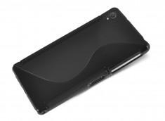 Coque Sony Xperia Z5 Premium Silicone Grip-Noir