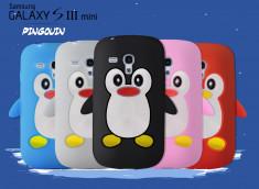 Coque Samsung Galaxy S3 mini Pingouin