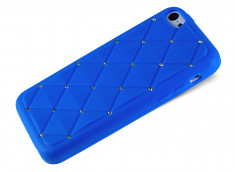 Coque iPhone 5C Luxury Flex-Bleu