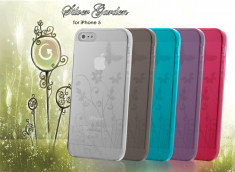Coque iPhone 5 Silver Garden Flex