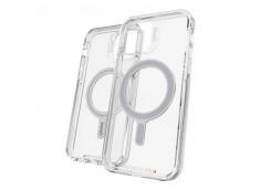 Coque iPhone 12/12 Pro GEAR4 D30 PICCADILLY SNAP BLACK antibactérien et antichoc