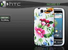 """Coque HTC Desire G7 """"Décor Floral"""""""