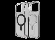 Coque iPhone 13 Pro GEAR4 D30 MAGSAFE SNAP BLACK antibactérien et antichoc-Noir
