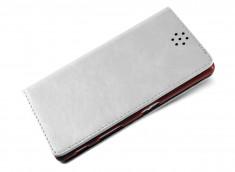 Etui Sony Xperia Z5 Leather Flip Flex-Blanc