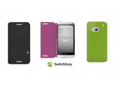 Flip HTC One by Switcheasy + 2 protections écran