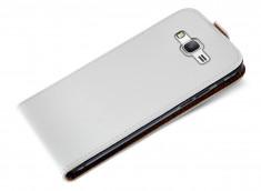 Etui Samsung Galaxy Grand Prime Business Class-Blanc