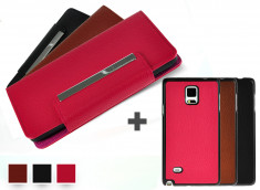 Etui Wallet + Coque amovible Samsung Galaxy Note 4