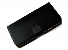 Etui Samsung Galaxy S4 Leather Wallet-Noir