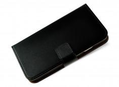Etui Samsung Galaxy S3 Leather Wallet-Noir