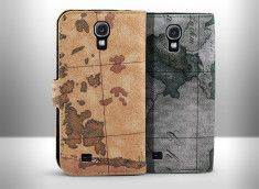 Etui Samsung Galaxy S4 World Map