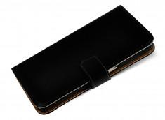 Etui Samsung Galaxy A6+ Leather Wallet-Noir