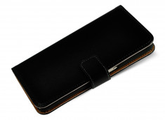 Etui Samsung Galaxy A40 Leather Wallet-Noir