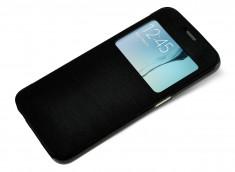 Etui Samsung Galaxy Note 5 View-Noir translucide